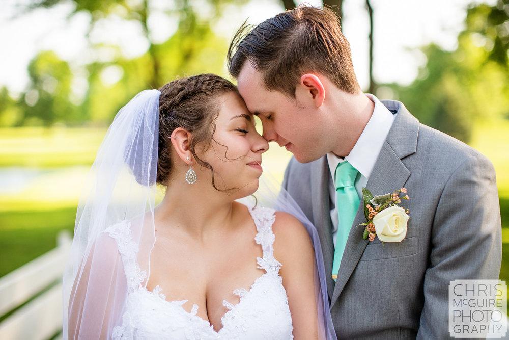 Peoria Illinois wedding photo