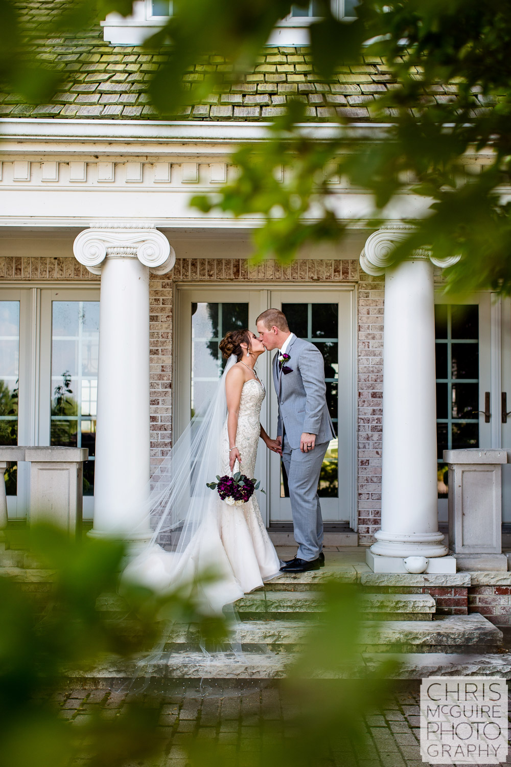 Queenwood Mansion Morton IL wedding