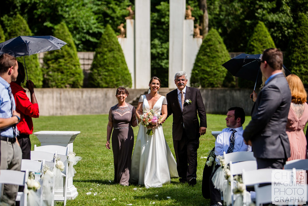 Allerton Park Central Illinois Wedding