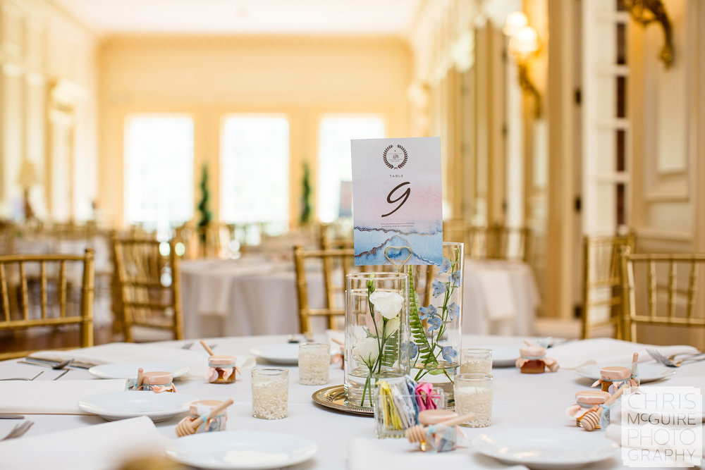 Allerton Mansion Wedding reception