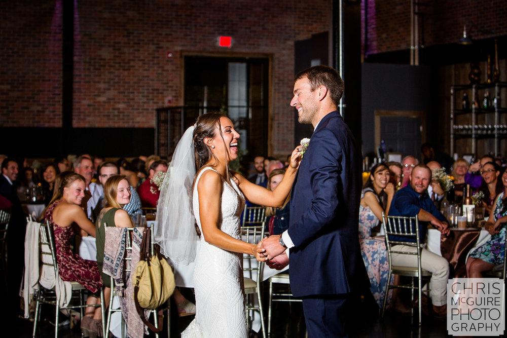 Warehouse on State Wedding Peoria Illinois