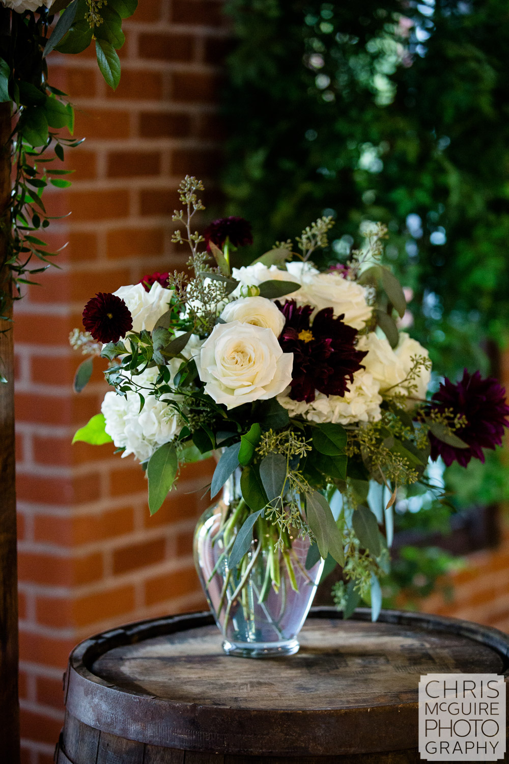 Florals at Illinois State Fairgrounds Wedding