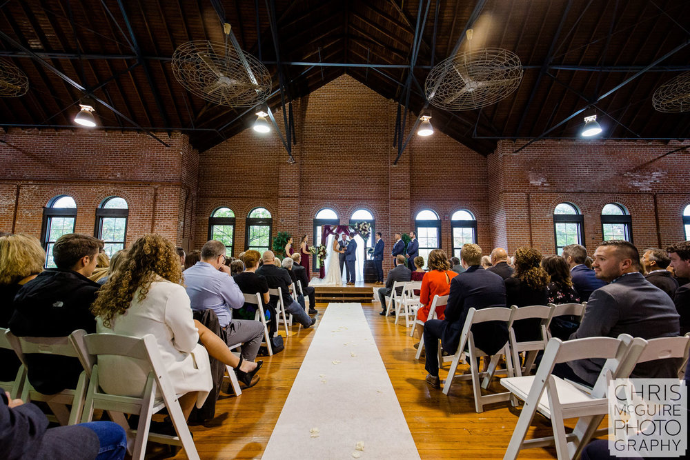 Illinois State Fairgrounds Wedding, Expo Building