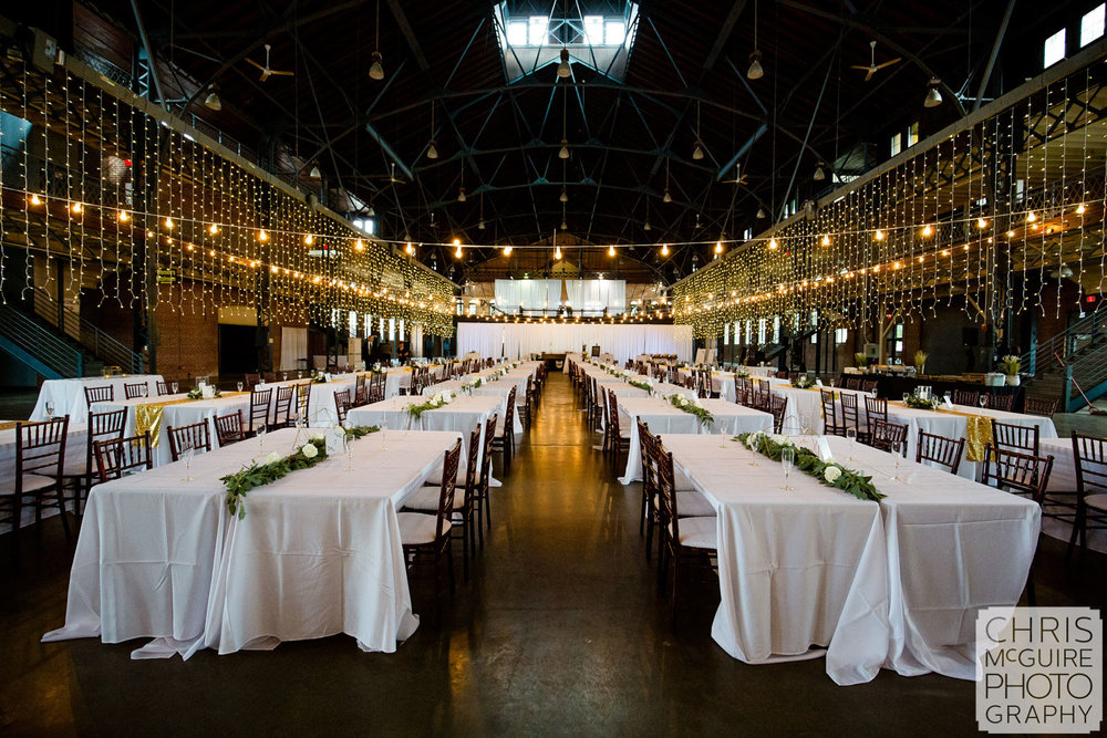 Illinois State Fairgrounds Wedding Reception Expo Building