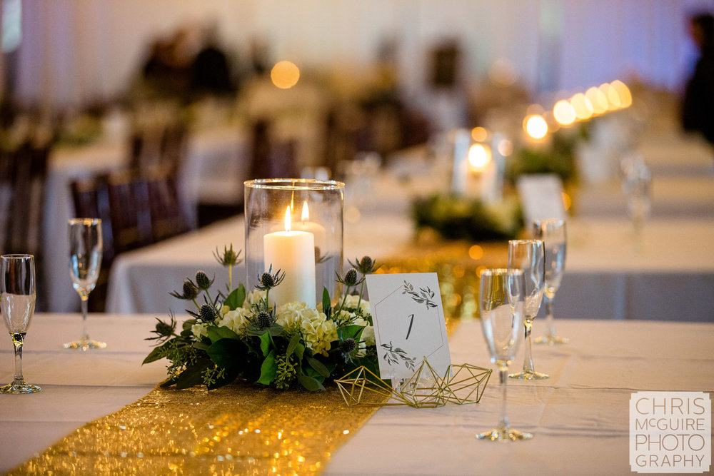 Reception Centerpieces and Details