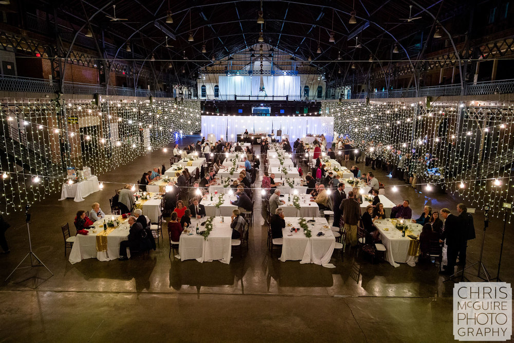 Illinois State Fairgrounds Wedding Reception