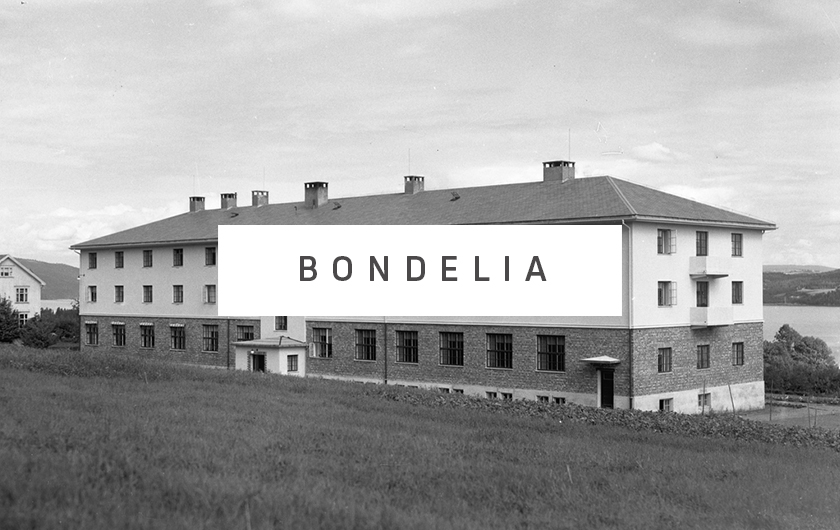 NYHET! VI PRESENTERER DET NYE BOLIGPROSJEKTET    BONDELIA   Snart rives den tidligere husmorskolen på Bondelia. Planleggingenen av et nytt boligområde med ca. 100 boliger er i gang.