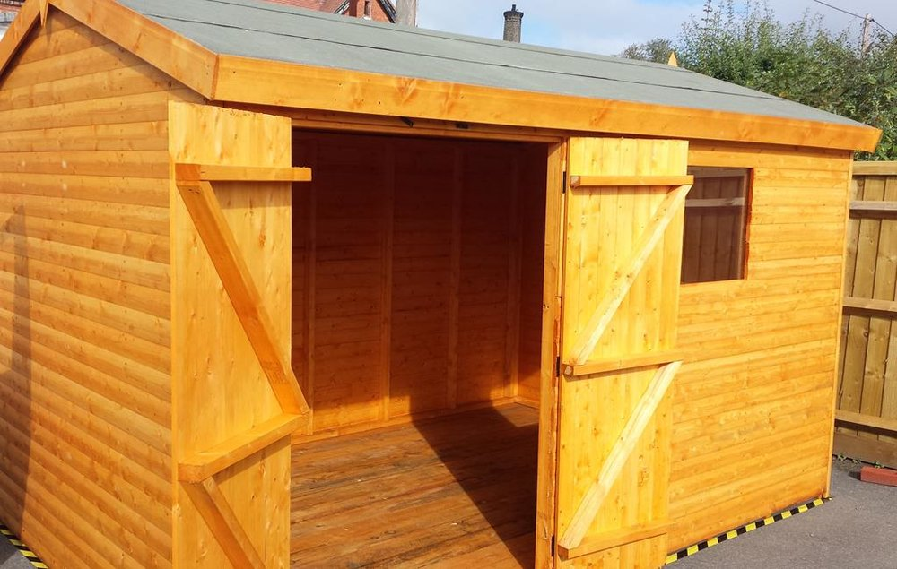 timber sheds - Take a look at our range of garages