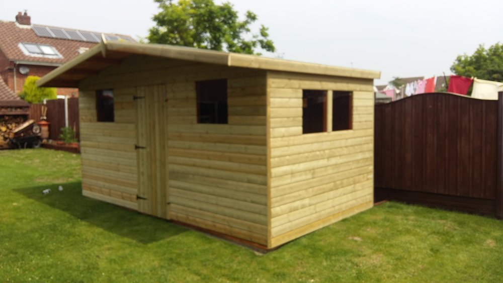22mm Loglap - Built with quality in mind, The 20mm Loglap shed is available in a range of colours and sizes, to suit your needs.Get in touch for additional information