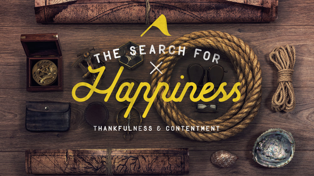 """the search for happiness - Happiness means something different to different people. Many, in our modern society, attempt to """"find"""" happiness through material possessions, a new job, or even a significant other. In the end, though, these things often leave us just as empty as we were before. 'The Search for Happiness' flips this approach on its head, detailing the importance of putting our focus on the person of Jesus, as well as our walk with Him. This alone will bring us lasting joy and contentment."""