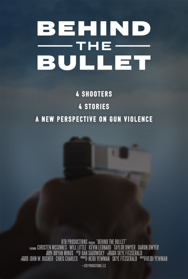 Behind the Bullet Film Poster