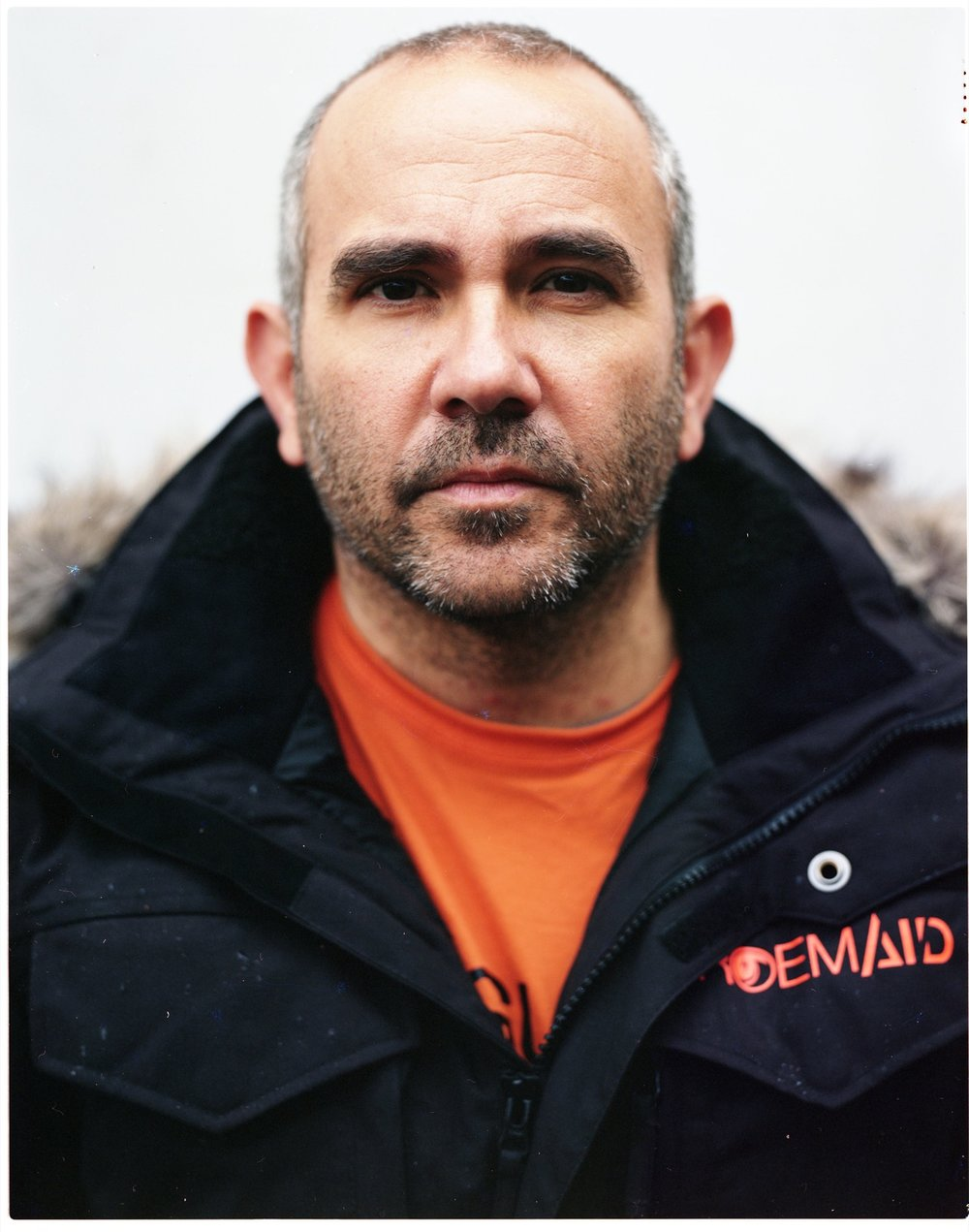 Manuel Blanco, a firefighter from Seville, Spain, and a volunteer lifeguard on Lesbos, Greece, in charge of a team of firefighters from the Spanish N.G.O. Proem-Aid. Manuel, two other Spanish firefighters, and two Danish volunteers with the N.G.O. Team Humanity were arrested on the Greek island of Lesbos on January 14, 2016, and charged with human trafficking when they went to help a refugee boat that was thought to be sinking. They were released on January 17, 2016, with a 15,000-euro fine.