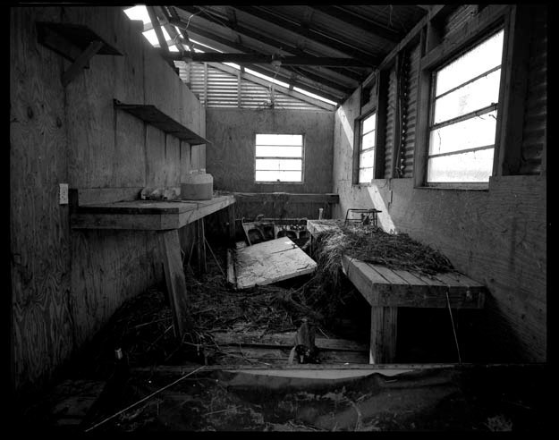 Inside of destroyed house n Cameron Parish Louisiana, September 27, 2005