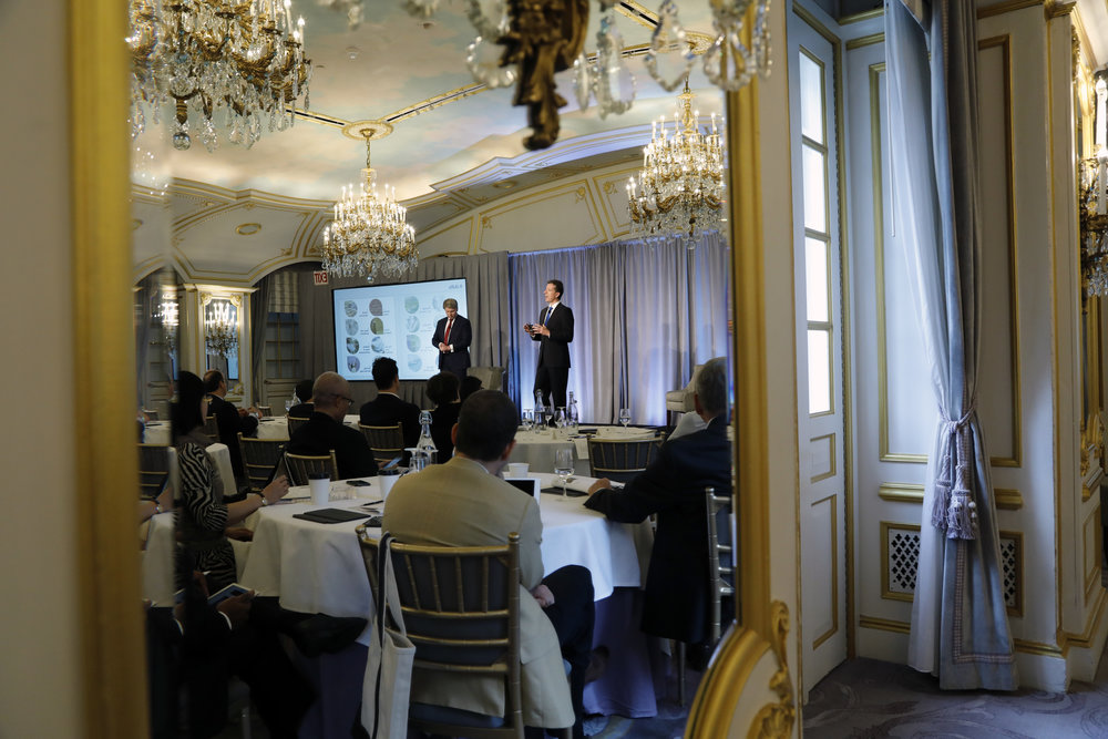 McKinsey event at the St. Regis Hotel, Spring 2018.