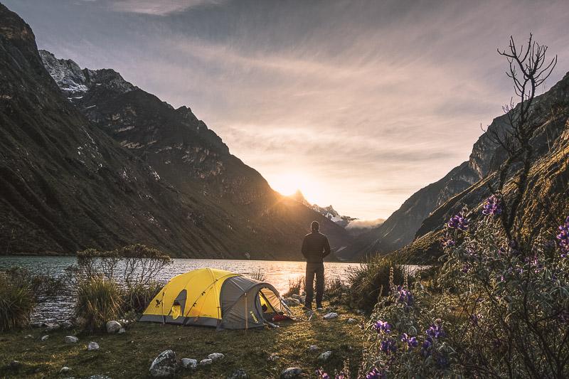 - Santa Cruz Trek in the Cordillera Blanca in Peru