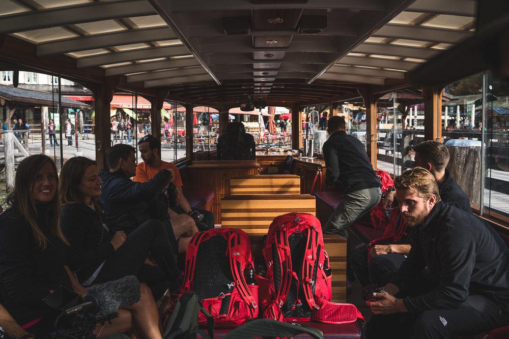On the boatride from Schönau to Kessel