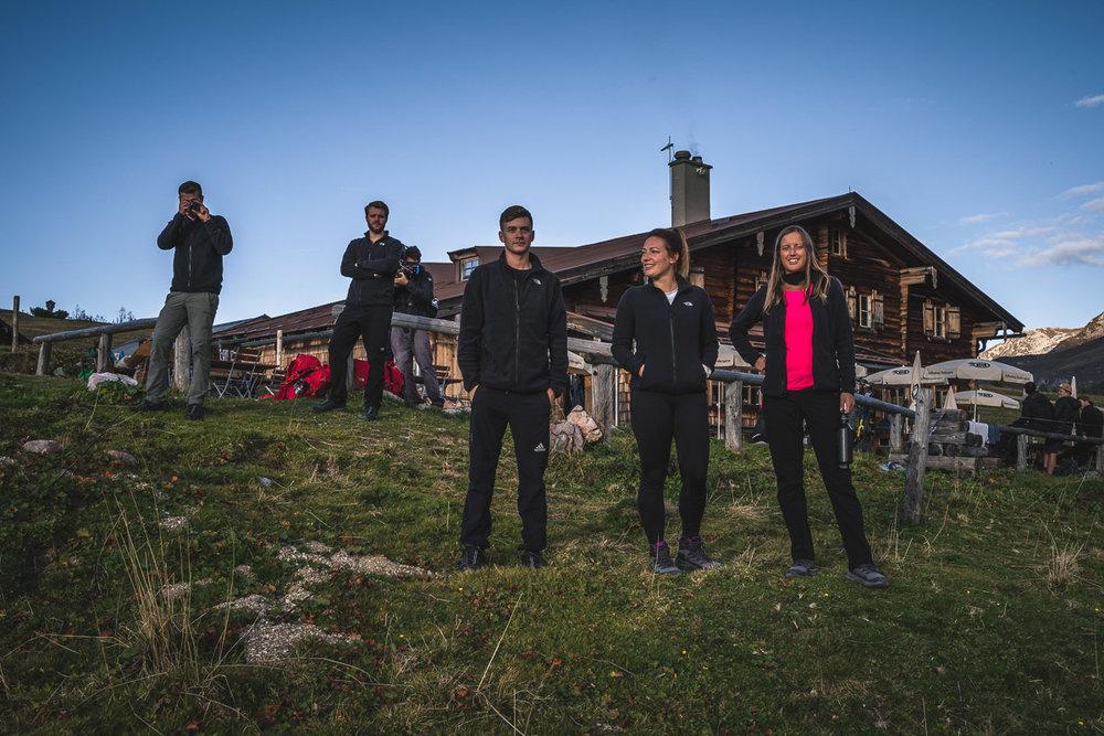 The team at Gotzenalm