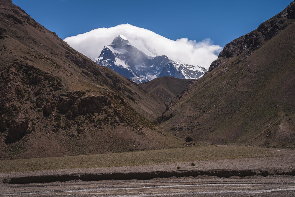 First view of Aconcagua