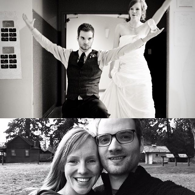 8 years in. Here's to us, love.