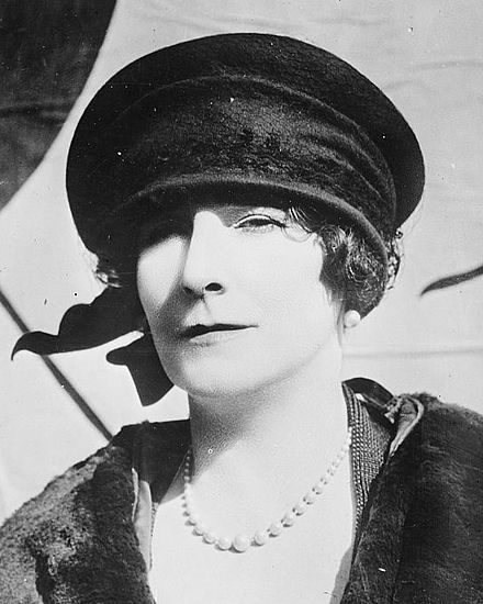 Left: Elinor Glyn, novelist, playwright and filmmaker was a pioneer in women's erotic fiction. Her facial exercise book, The Wrinkle Book or, How to keep looking young was written in 1927. -