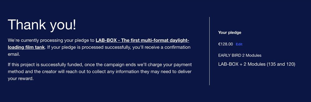 Crowdfunding LabBox