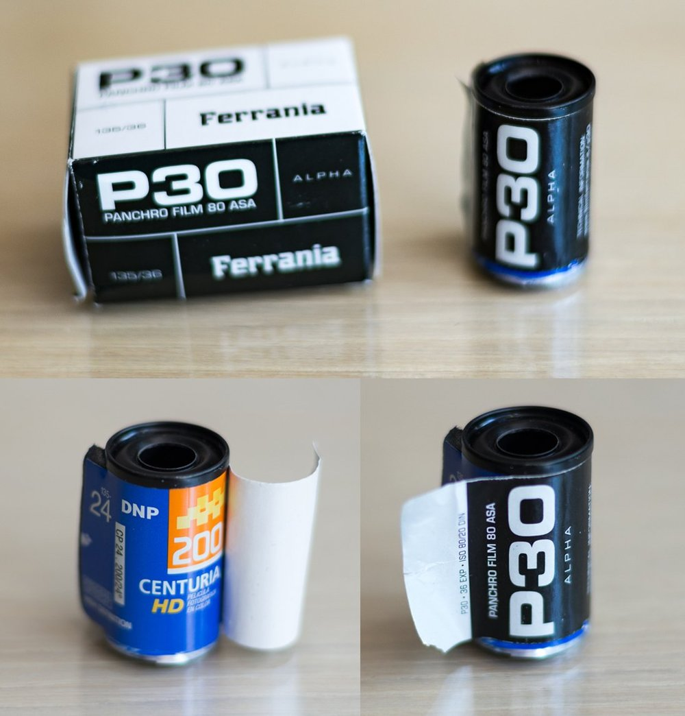 First roll of Ferrania P30 Alpha