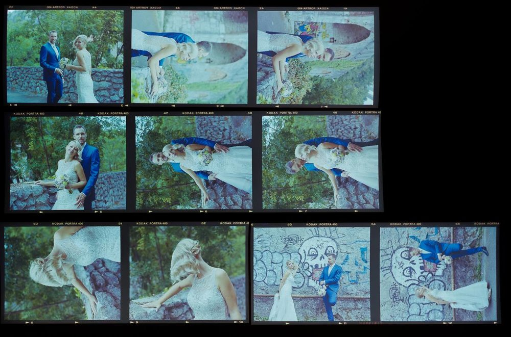 Contact Sheet of my C-41 development