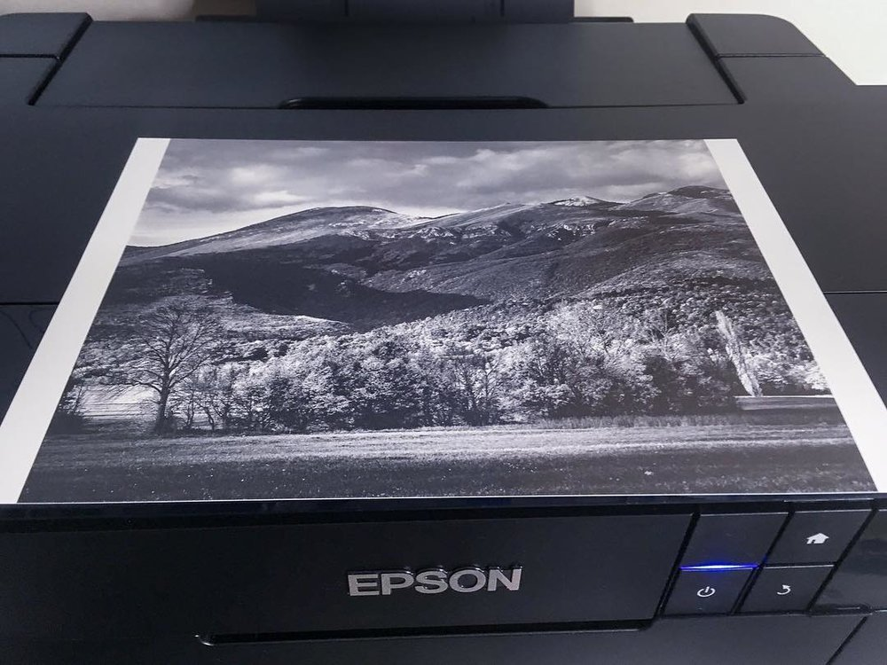 Epson SC P600 with print