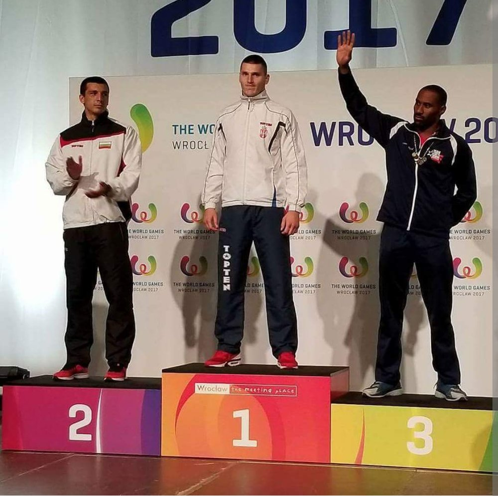 Listen to Omari Boyd, the first EVER American to win a medal at the World Games in kickboxing, watch what Omari had to say about his experience training with Mark Greubel in Augusta, GA right >>>   HERE   !