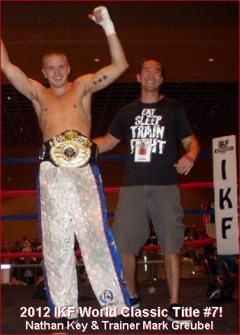 Greubel trained Nathan Key to 7 IKF World Titles