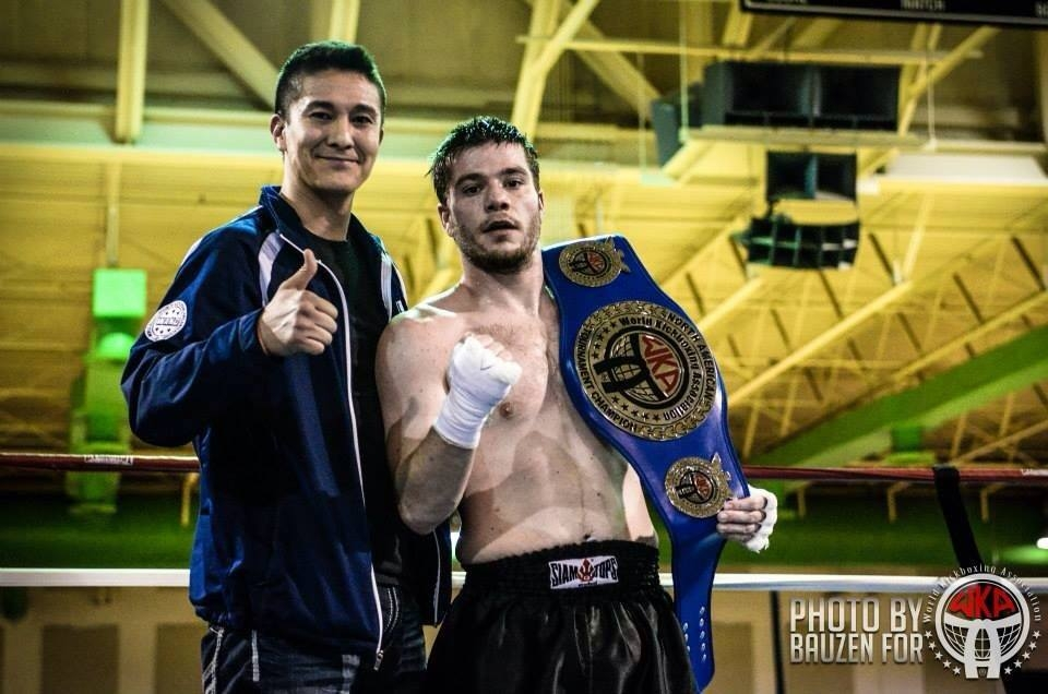Adam Poore WKA K-1 Kickboxing