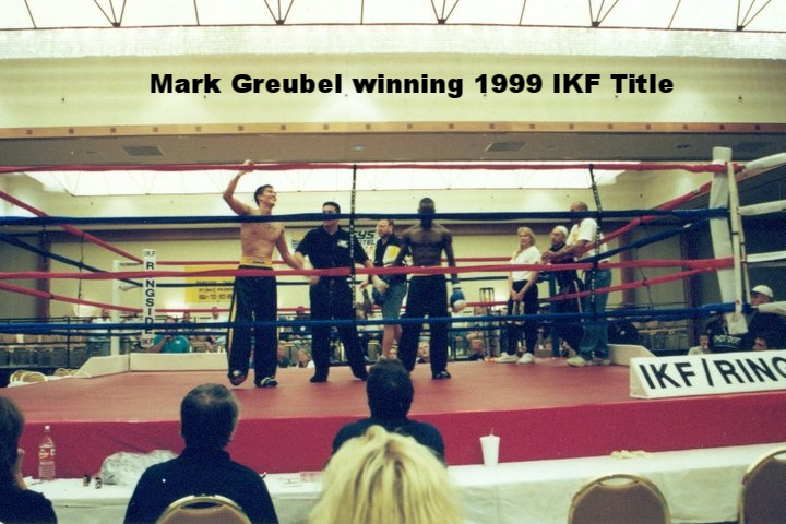 Mark Greubel Winning IKF Title in 1999