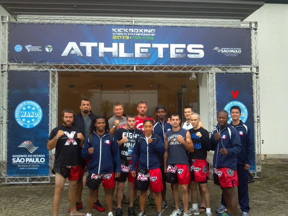 WAKO K-1 Kickboxing Team USA 2013 Brazil