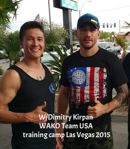 With fellow TEAM USA COACH Dimitry Kirpan