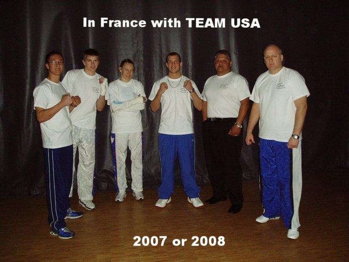 WAKO TEam USA in France