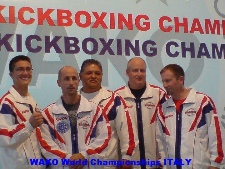 WAKO kickboxing world championships Italy
