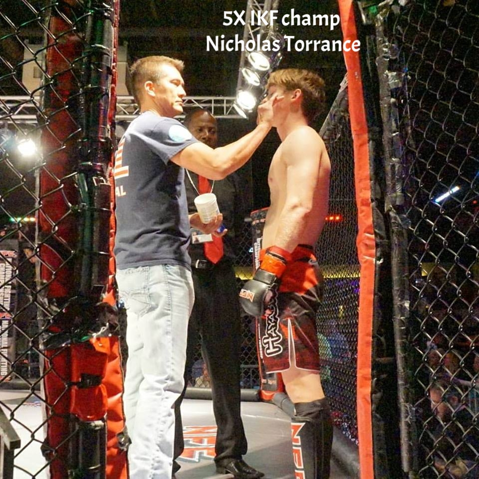 Prepping Nicholas Torrance at NFC MMA fight