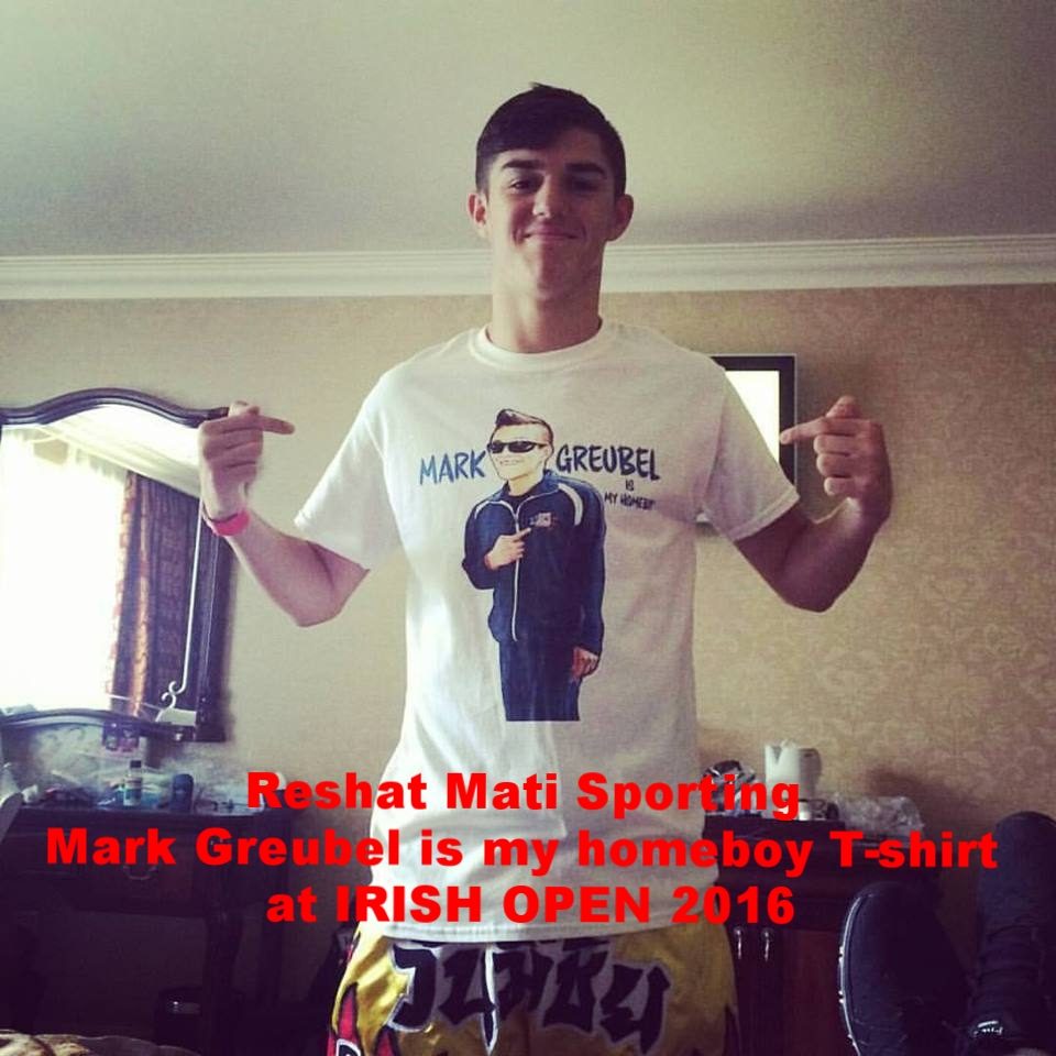 Reshat Mati with Mark Greubel is my homeboy shirt