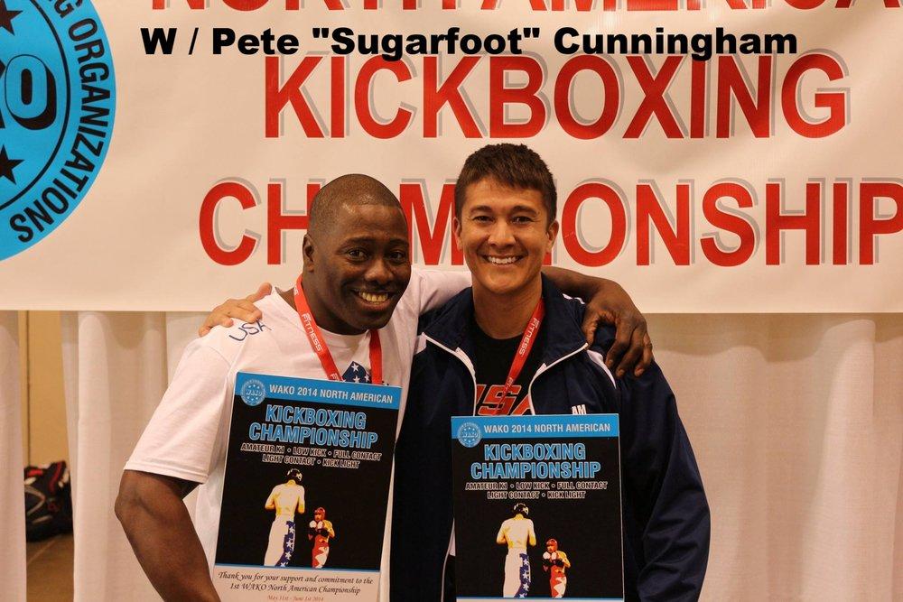 WAKO North American Tournament W/Pete SUGARFOOT Cunningham