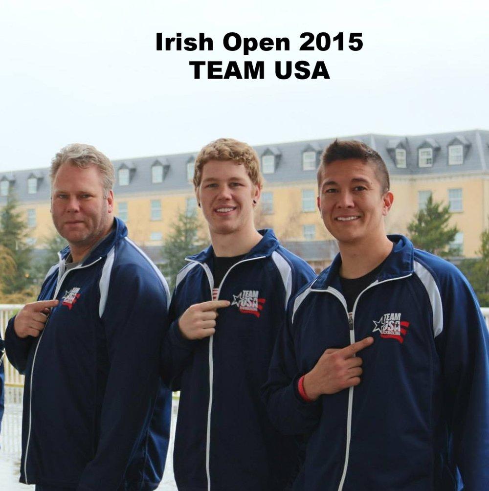 Irish open wako