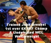John Greubel Undefeated WCL welterweight
