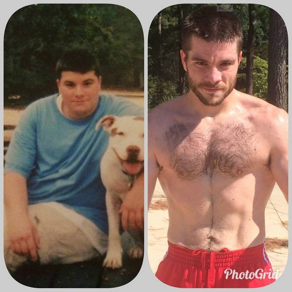 Adam Poore before and after