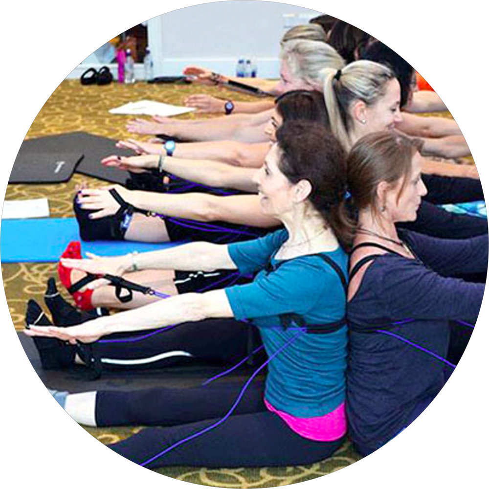 Tye4® Standing and Pilates Mat Class with Lonna Mosow, London.
