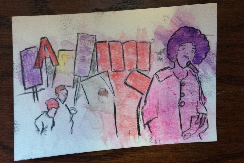 KPCC - Using art-making to start conversations with kids about social justice