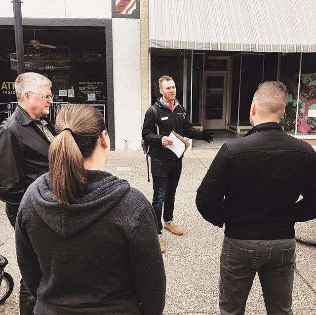 John Looney: the true O.G. (Original Gangster for those not up on the lingo). Our new walking tour tells the tale of this mob boss who oversaw an empire of vice in @downtownrockisland and beyond! Thanks to @connectionqc for coming out on a chilly Saturday morning. 📸: Jason H.