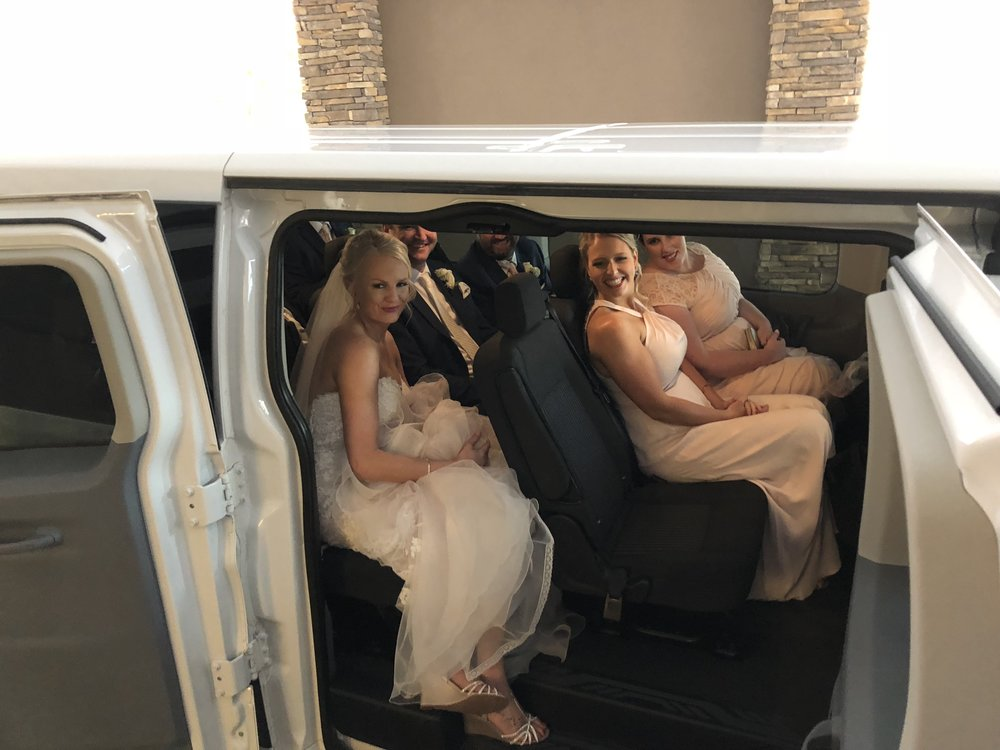 Wedding Transportation in the Quad Cities