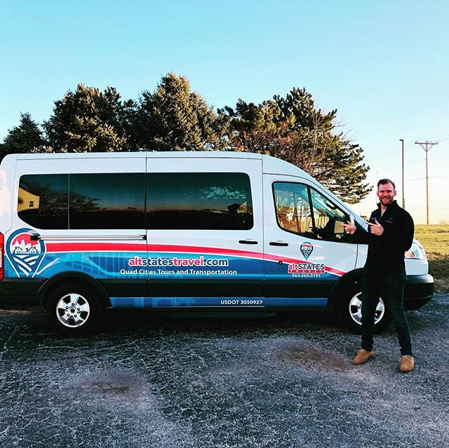 New year, new wheels! Give us a honk if you see our van in the QC 😎🚐