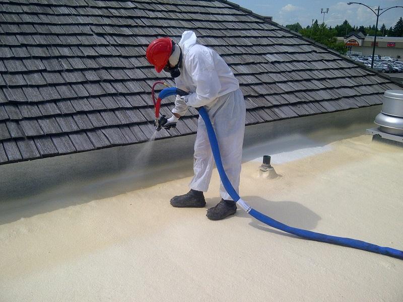 SPF (Spray Polyurethane Foam) Roofing -