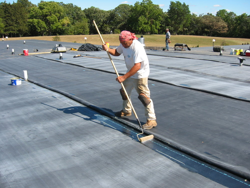 EPDM roofing -