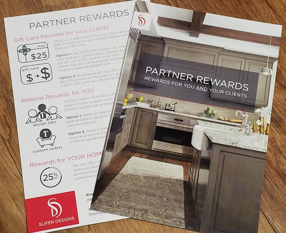 Copy of Partner Rewards Program for Slifer Designs